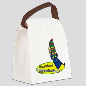 2-librarian6 Canvas Lunch Bag