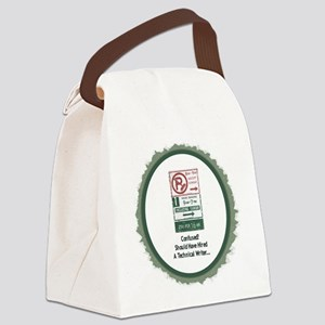 confusingsign Canvas Lunch Bag