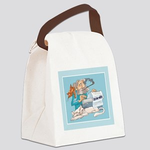 writer4funny Canvas Lunch Bag