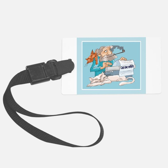 writer4funny.png Luggage Tag
