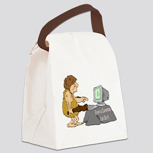 cavemancomputer Canvas Lunch Bag