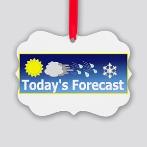 Forecast1 Picture Ornament