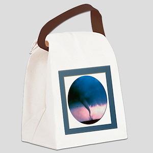 NOAHTornado3 Canvas Lunch Bag