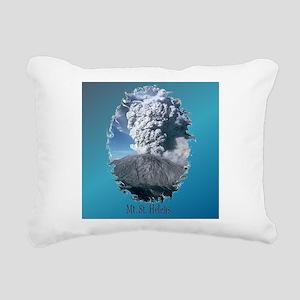 2-MtStHelenTile Rectangular Canvas Pillow