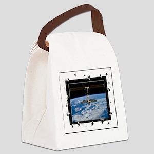 internatl spacestation3a Canvas Lunch Bag