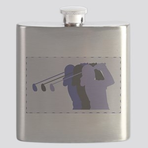 woman golfer 7 Flask
