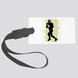 quarterback Large Luggage Tag