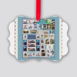 stamps Picture Ornament