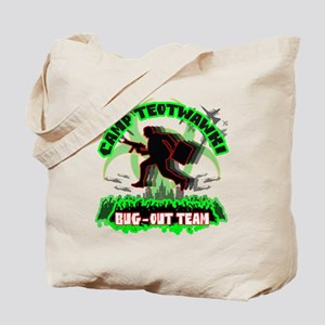 Camp TEOTWAWKI Bug-Out Team Tote Bag
