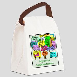 yardsale Canvas Lunch Bag