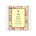 SeeingWithin.jpg Square Sticker 3
