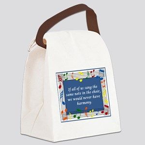 2-harmony Canvas Lunch Bag