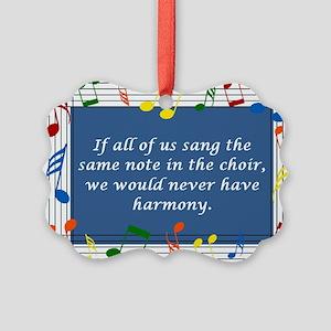 2-harmony Picture Ornament