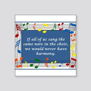 "2-harmony Square Sticker 3"" x 3"""