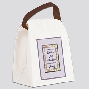 RandomActs Canvas Lunch Bag