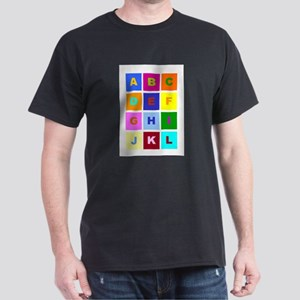 Alphabet Dark T-Shirt