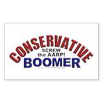 Conservative Boomer Sticker (Rectangle 50 pk)