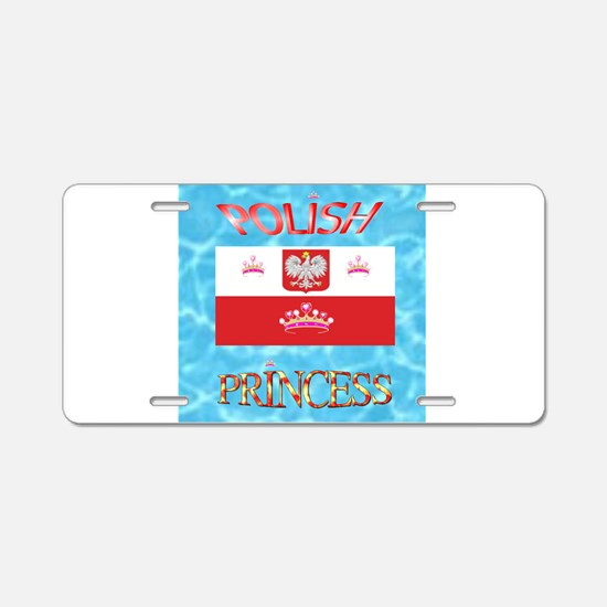 POLISH.png Aluminum License Plate