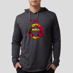 Maui - Hawaiian Shirt Mens Hooded Shirt