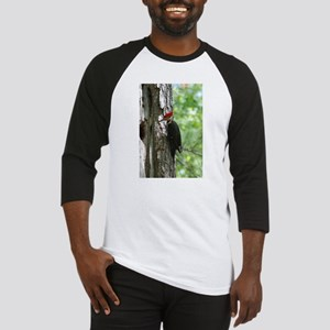 Pileated Woodpecker Baseball Jersey