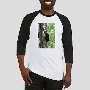 Pileated Woodpecker Baseball Jersey