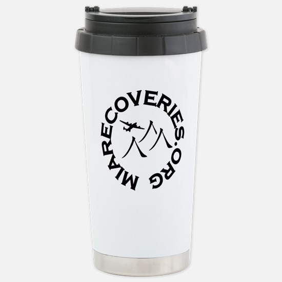 MIA Recoveries Org Logo Stainless Steel Travel Mug