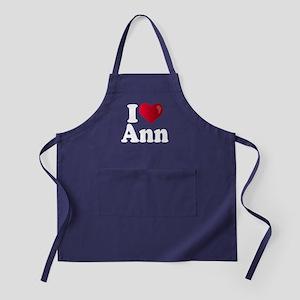 I Heart Ann Romney Apron (dark)