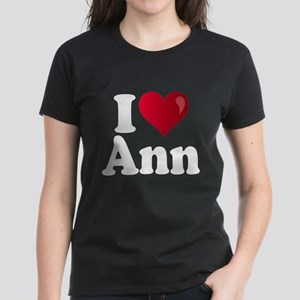 I Heart Ann Romney Women's Dark T-Shirt