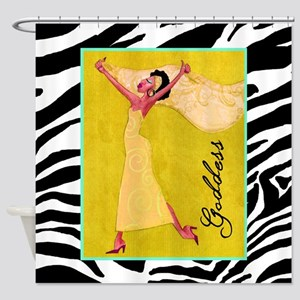 african american diva shower curtains cafepress