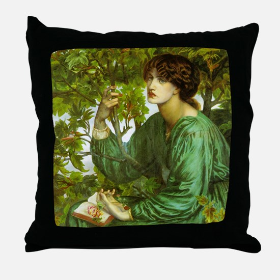 Daydream by Rossetti Throw Pillow