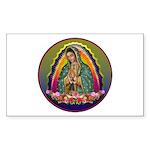 Guadalupe Circle - 1 Sticker (Rectangle 50 pk)