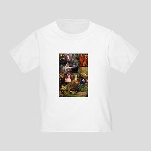 Pre-Raphaelite Collage Toddler T-Shirt