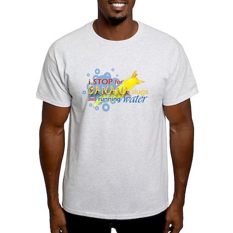 I Stop for Banana Slugs T-Shirt Light T-Shirt