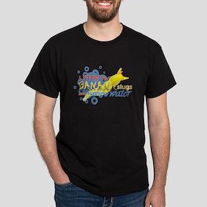 I Stop for Banana Slugs T-Shirt Dark T-Shirt