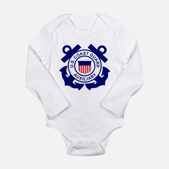 Coast Guard Auxiliary<BR> Infant Creeper Body Suit