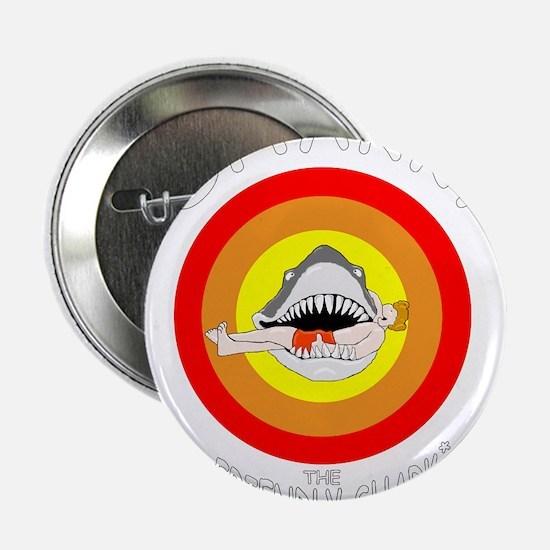 "Sharky the Friendly Shark* 2.25"" Button"