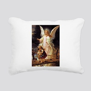 Guardian Angel Rectangular Canvas Pillow