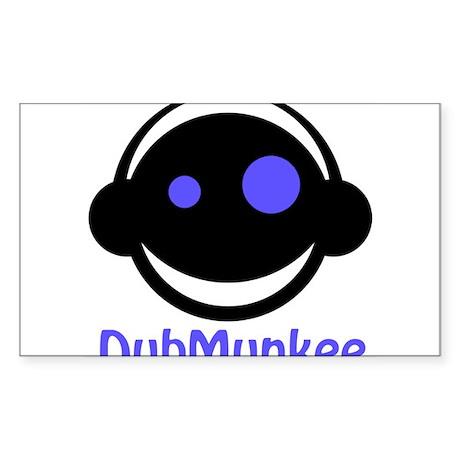 DubMunkee Sticker (Rectangle)