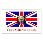 backboris Sticker (Rectangle 50 pk)