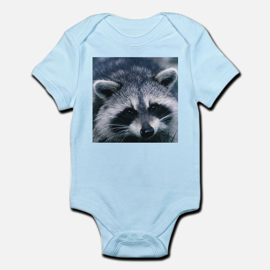 Cute Raccoon Infant Bodysuit