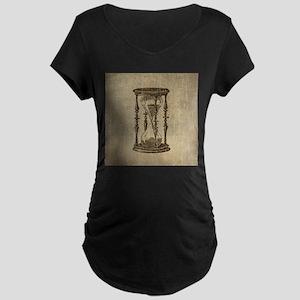 Vintage Hourglass Maternity Dark T-Shirt