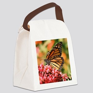 Beautiful Butterfly Canvas Lunch Bag