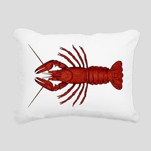 Crawfish Rectangular Canvas Pillow