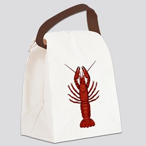 Crawfish Canvas Lunch Bag