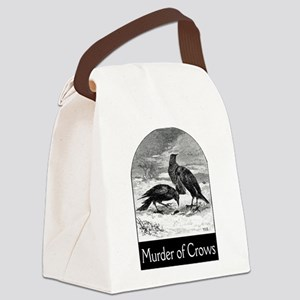 FIN-murder-of-crows Canvas Lunch Bag