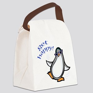 FIN-dancing-penguin Canvas Lunch Bag