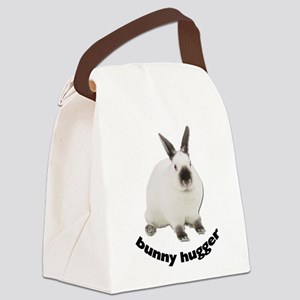 Bunny Hugger Canvas Lunch Bag