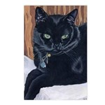MeMe, the black cat Postcards (Package of 8)