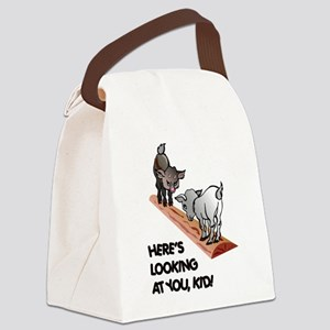 FIN-goats-you-kid Canvas Lunch Bag