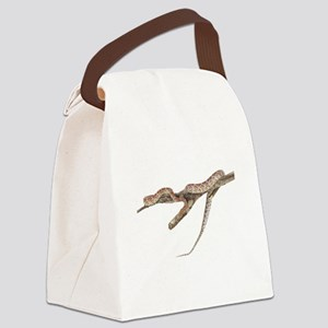 FIN-red-rat-snake-TRANS Canvas Lunch Bag